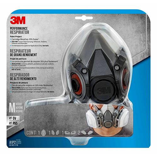 3M Performance Paint Project Respirator, reusable, 6211P1-DC
