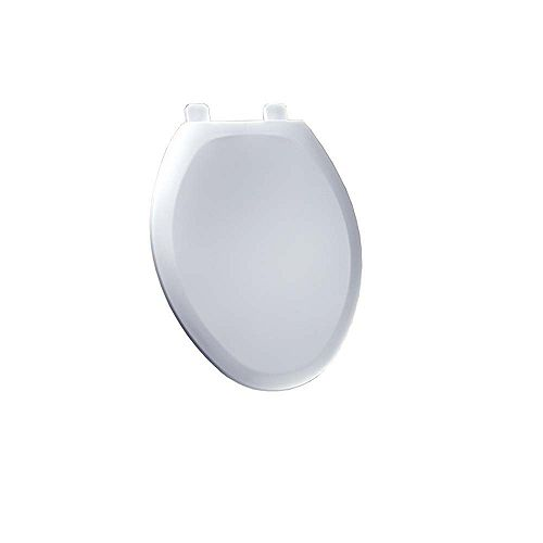 Cadet Elongated SlowClose Toilet Seat in White