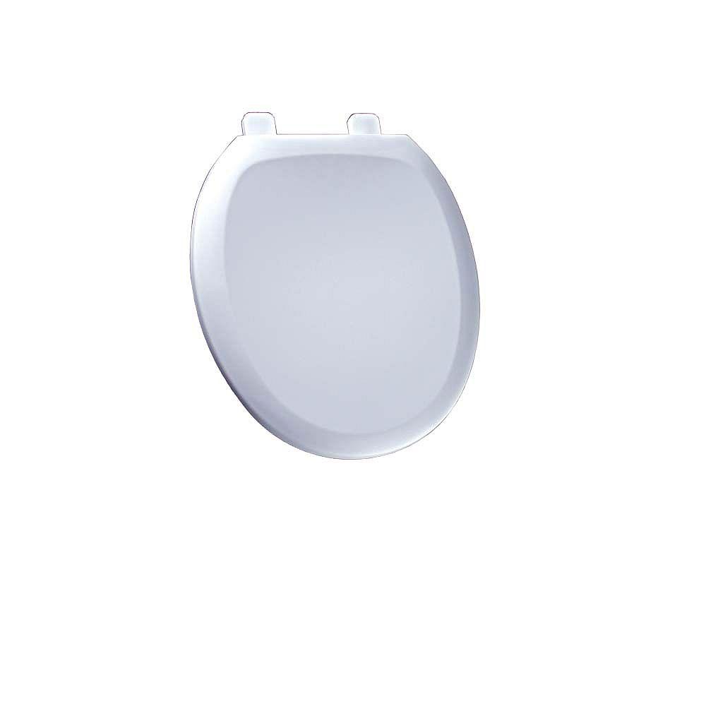American Standard Siège de toilette avant à fermeture lente Cadet Round en blanc