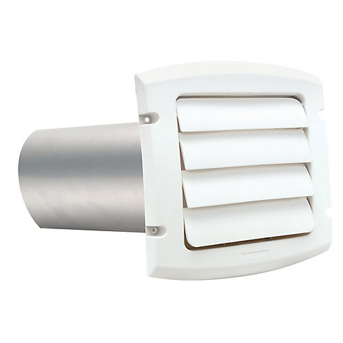 Provent Exhaust Hood White 6 inch
