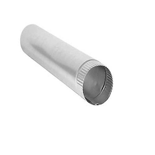 Aluminum Snap Lock Pipe 4 inchX24 inch