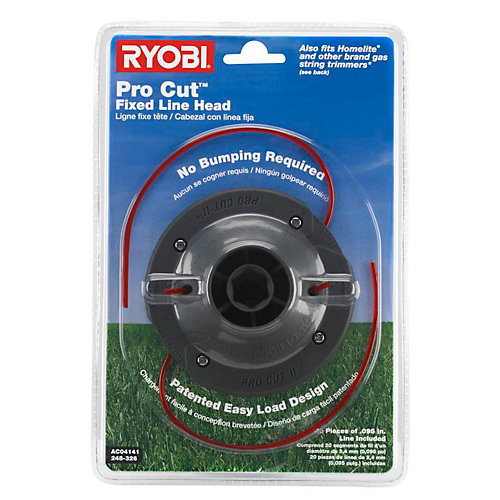 Universal Pro Cut II 0.095 in. Fixed Line String Head