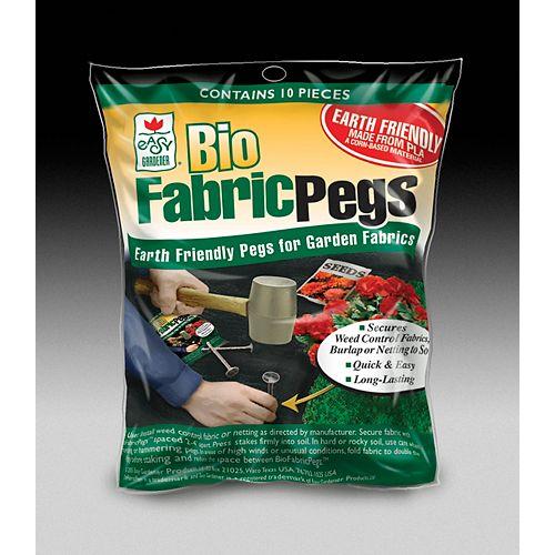 Piquets pour tissus FabricPegs<sup>®</sup> bio