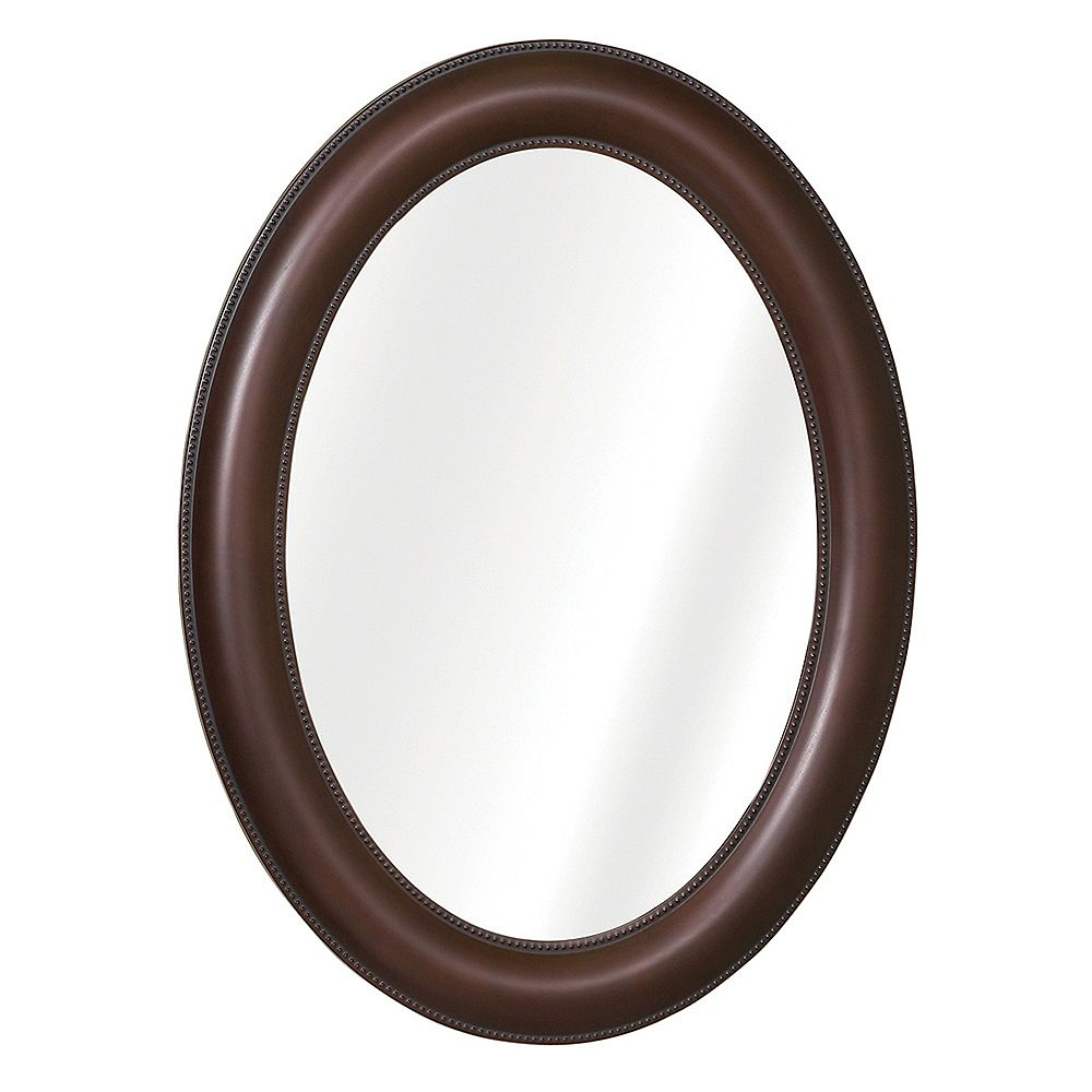 Zenith Products Armoire À Pharmacie Ovale - Bronze Huilé