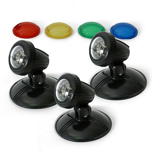 TripleGlo Submersible Light Kit for Ponds, Water Features and Water Gardening