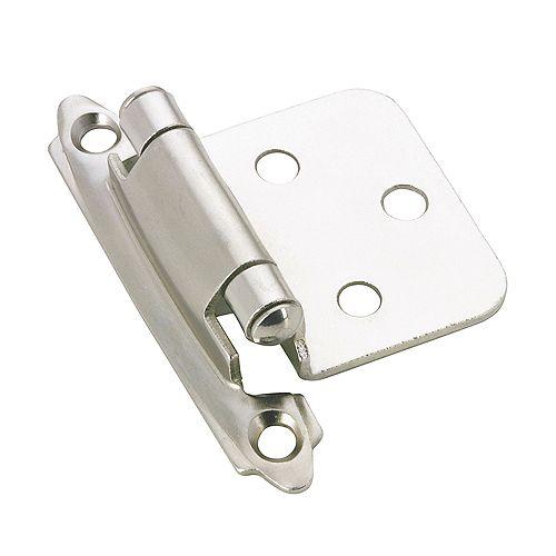 Semi-Concealed Self-Closing Hinge - Chrome (20-Pack)