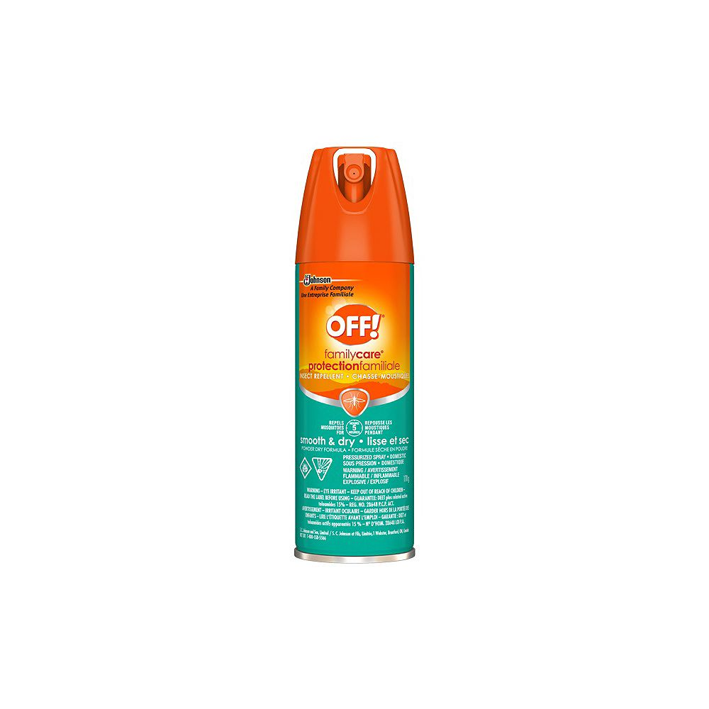 OFF! Familycare 71g Smooth & Dry Insect Spray