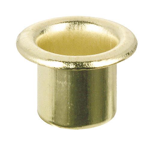 Metal Shelf Pin Sleeve 7.5 mm - Brass