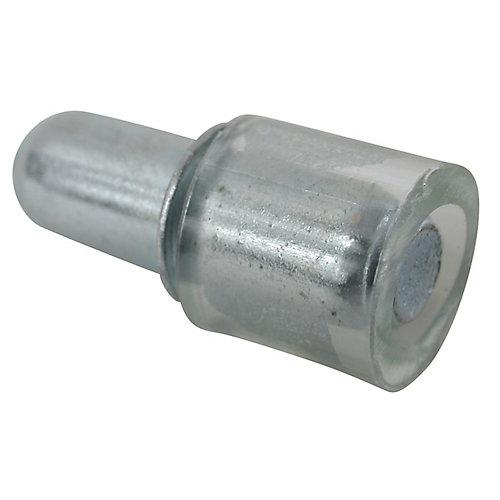 Glass Shelf Pin with Pvc tip - 5 mm