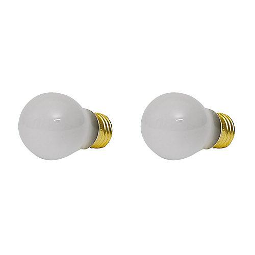 40W Frost Appliance Light Bulb (2-Pack)