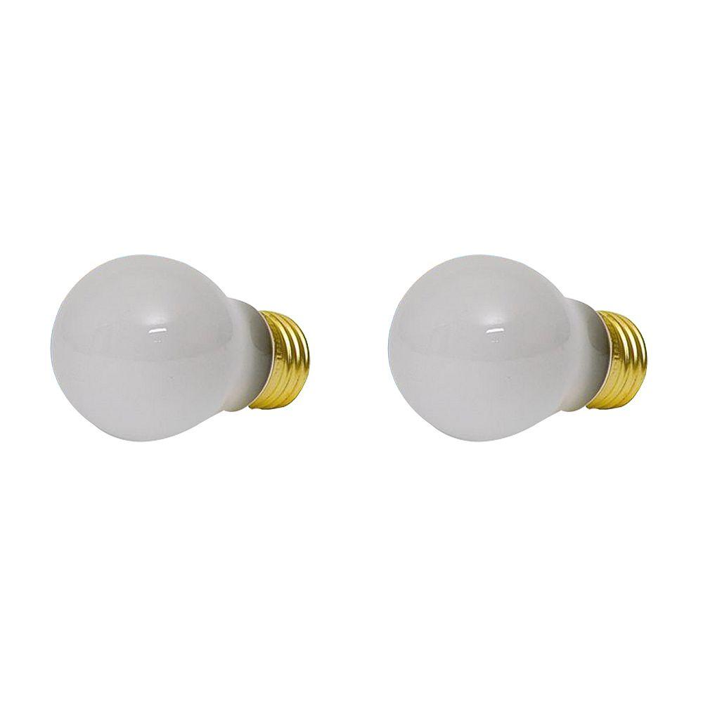 Philips Ampoule givrée pour électroménager, 40 W, ens. de 2
