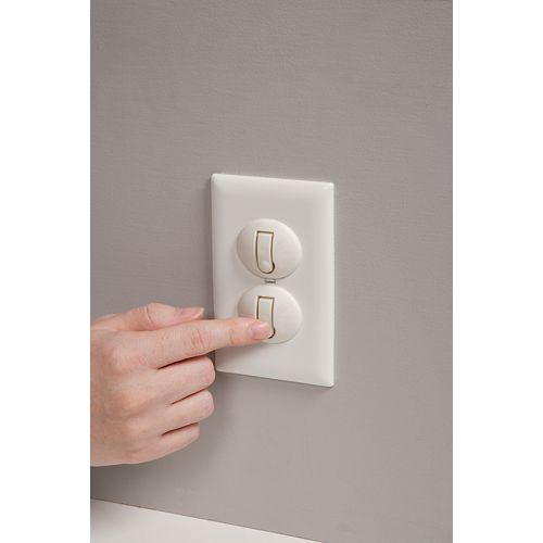 Press N' Pull Plug Protectors - (12-Pack)