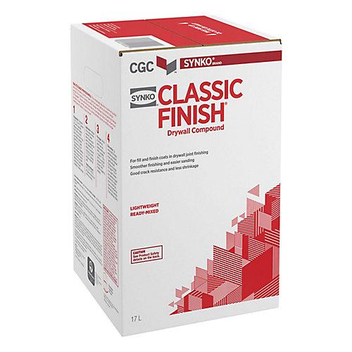 CGC Classic Finish 17 L de composé de cloison sèche mélangé léger prêt à l'emploi