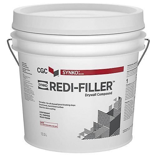 CGC Redi-Filler Composé tout usage pour cloisons sèches, prêt à l'emploi, seau de 13,5 L
