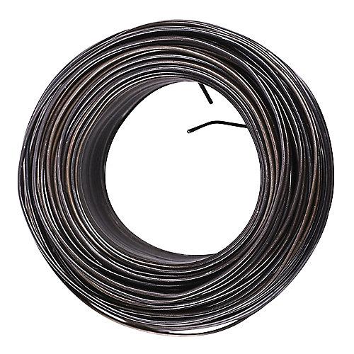 16-Ga. x 3-1/8-Lb Steel Tie Wire in Black - 1pk
