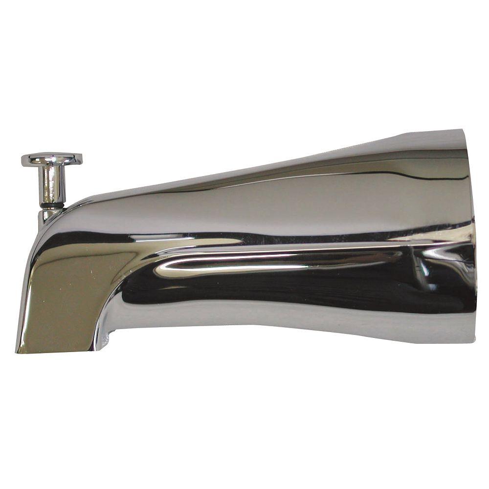 MOEN Bec de baignoire avec déviateur - Chrome