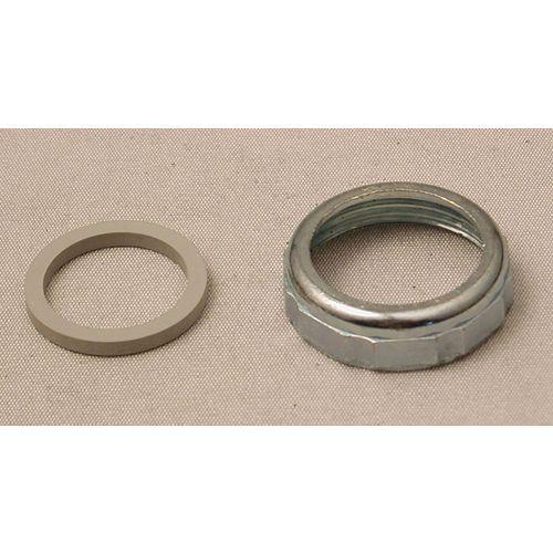 MOEN Écrou et rondelle de 1-1/4 pouce pour joint coulissant - Chrome