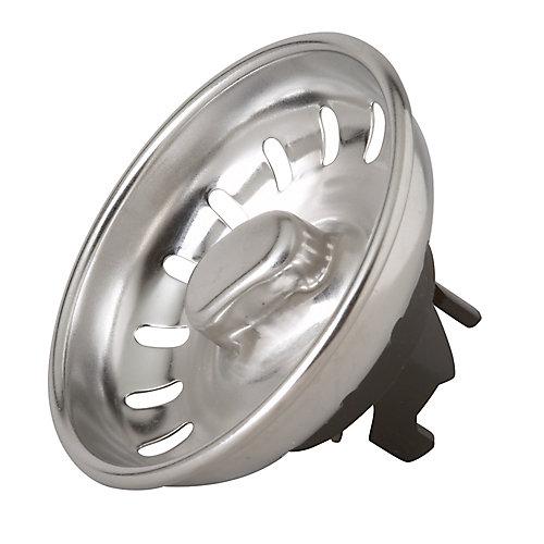 Assemblage de panier-filtre - verrouillage pied en griffe