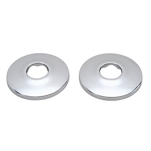 MOEN 3/4-inch Pipe Flanges - Stainless Steel