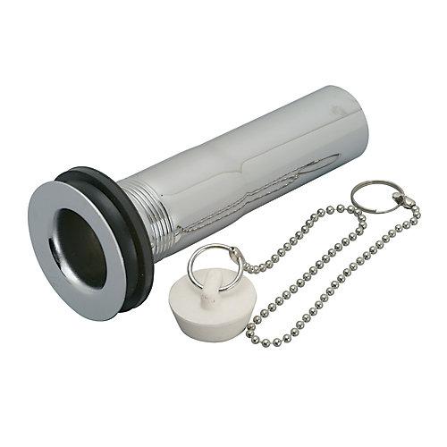 Bonde de vidage en métal 32 mm x 20 cm