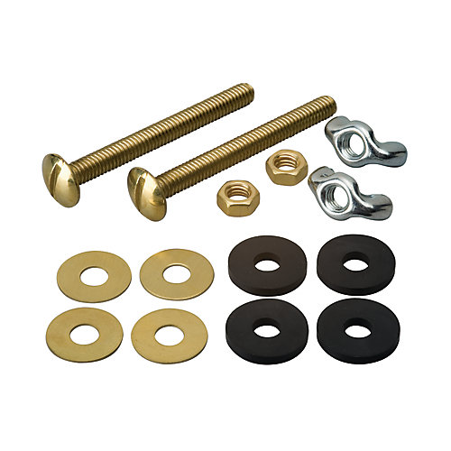Tank To Bowl Bolts - Solid Brass