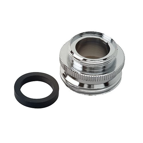 "MOEN 13/16"" Male to Hose Aerator Adapter"