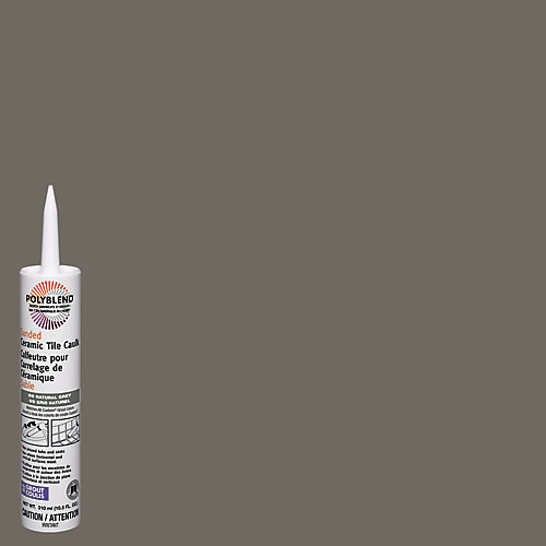 Polyblend Caulk Sanded  Sanded #09 Natural Gray 310 ml