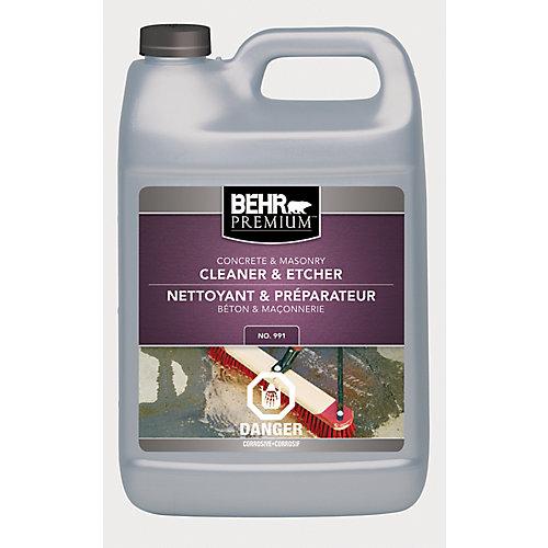Nettoyant et décapant pour béton et maçonnerie de première qualité, 3,79 L