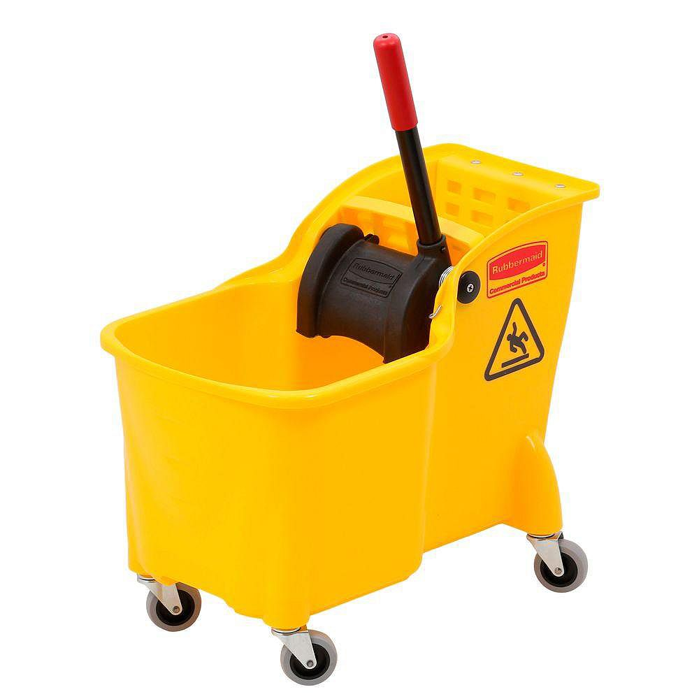 Rubbermaid 29L Tandem Mop Bucket