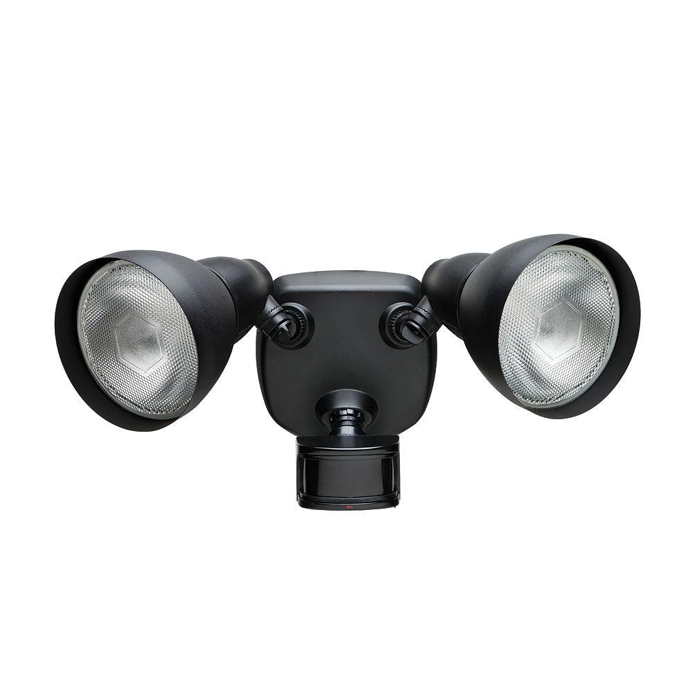 Defiant 270 Degree Black Motion Sensing Security Light The Home Depot Canada