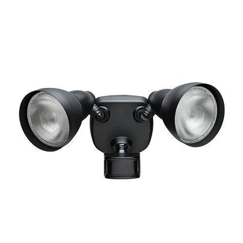 270 Degree Black Motion Sensing Security Light
