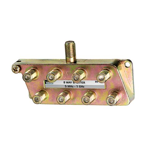 8 Way Digital TV Splitter 1 Ghz