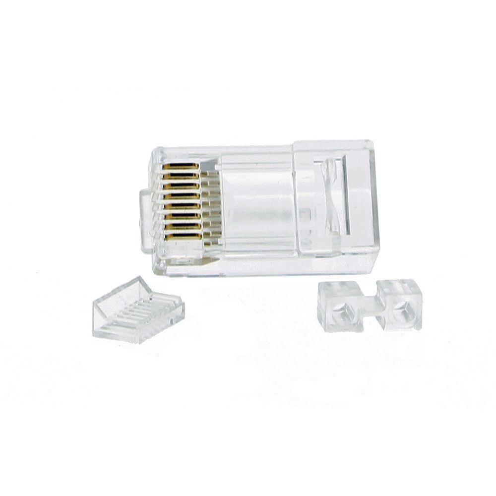 IDEAL RJ45 Cat6 Modular Plugs (25-Pack)