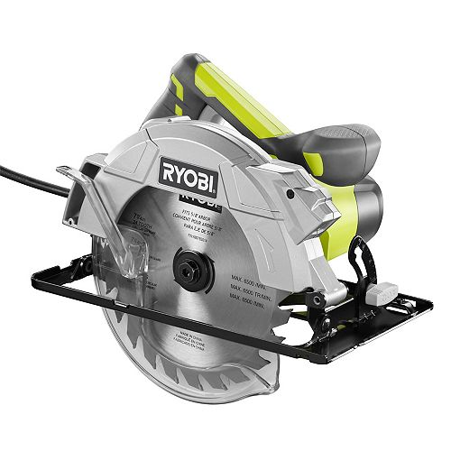 7 1/4-inch 15 amp Corded Circular Saw with Laser