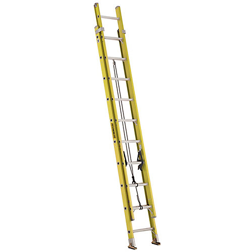 fibreglass extension ladder 20 Feet  grade IA