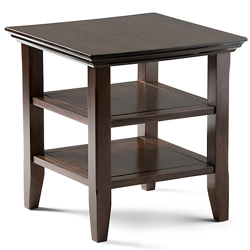 Acadian 19-inch x 19-inch End Table
