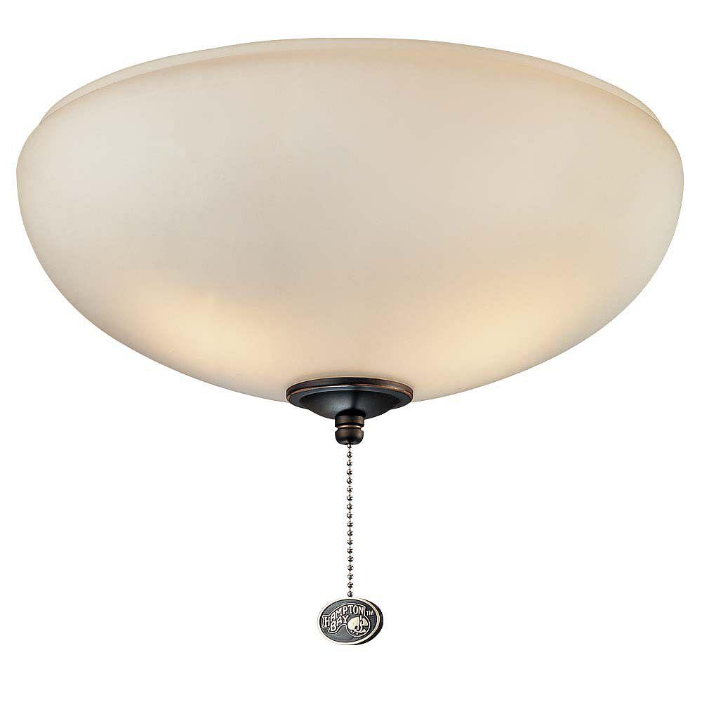 Hampton Bay Luminaire Universel Pour Ventilateur De Plafond