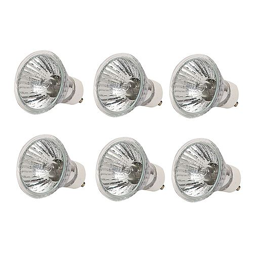35 Watt Halogen GU10 Flood Light Bulb - (6-Pack)
