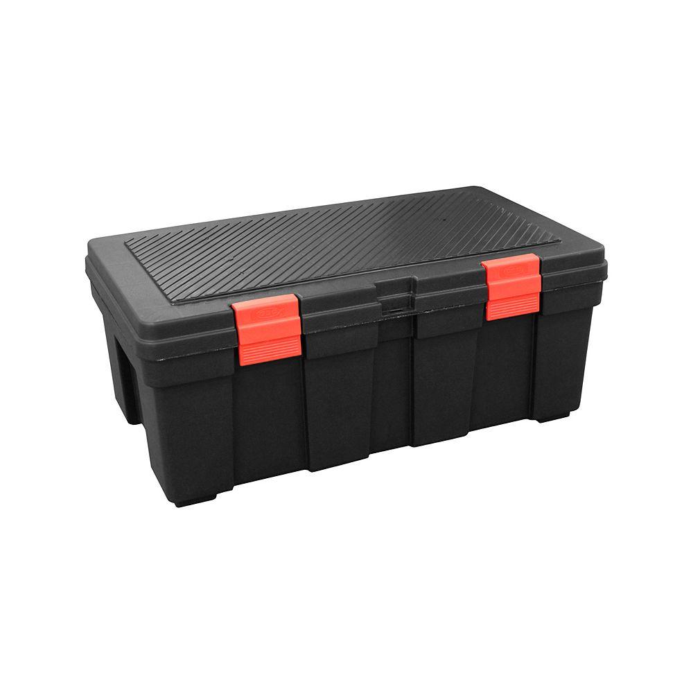 GSC 118L Storage Locker Black/Red Latches