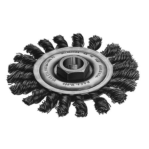 4-inch Stringer Bead Wheel in Carbon Steel