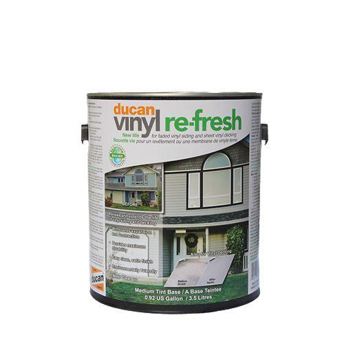 Vinyle Rafraichis, couche utilisé pour rafraichir l'apparence de votre vieille membrane de vinyle pali par le temps.