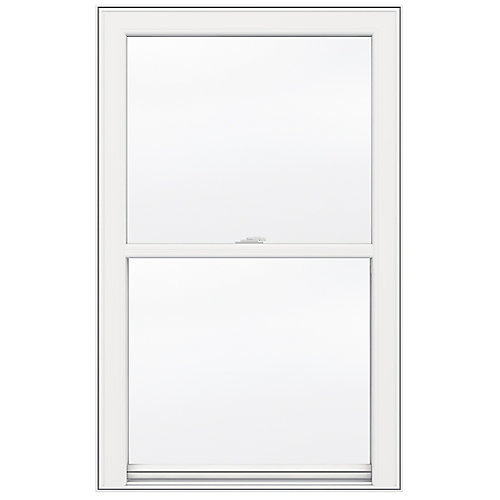 31-inch x 34-inch 5000 Series Single Hung Vinyl Window with 3 1/4-inch Frame - ENERGY STAR®