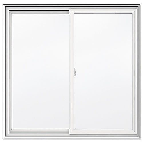 48-inch x 47-inch 5000 Series Vinyl Double Sliding Window with 3 1/4-inch Frame - ENERGY STAR®