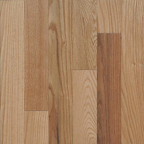 Red Oak Natural Satin Solid 3 1/4-inch x 5 1/2-inch Hardwood Flooring Sample