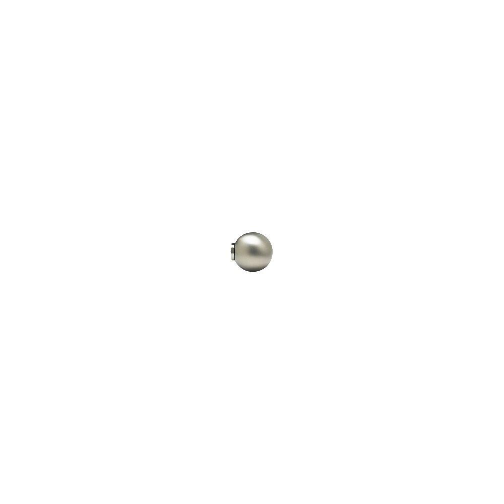 Home Decorators Collection Sphère de tringle pour brise-bise, 5/8 po, nickel satiné