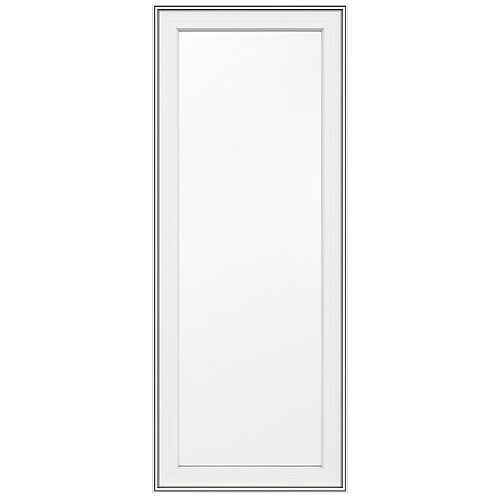 24-inch x 60-inch 5000 Series Vinyl Left Handed Casement Window with 3 1/4-inch Frame - ENERGY STAR®