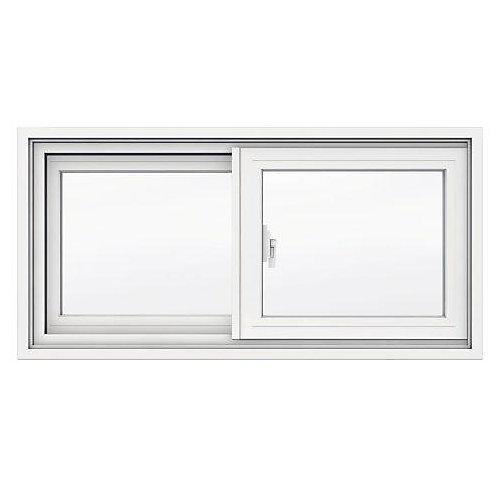 31 5/8-inch x 15 1/8-inch 1700 Series Sliding Vinyl Clad Window with 4 9/16-inch Frame - ENERGY STAR®