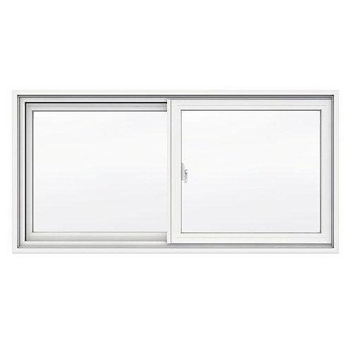 47 3/8-inch x 23-inch 1700 Series Sliding Vinyl Clad Window with 4 9/16-inch Frame - ENERGY STAR®