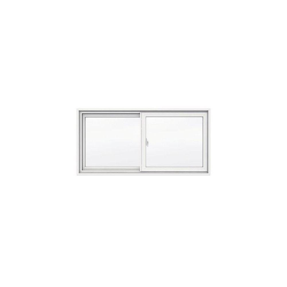 JELD-WEN Windows & Doors SÉRIE 1700 Coulissante recouverte de vinyle 47 3/8 x 23 po - 4 9/16 po - ENERGY STAR®