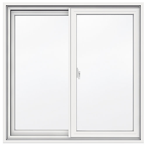 35 9/16-inch x 34 13/16-inch 1700 Series Sliding Vinyl Clad Window with 4 9/16-inch Frame - ENERGY STAR®